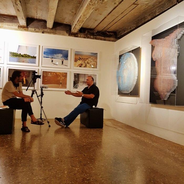 anthony moman-interview-venice biennale-syringe sculptures