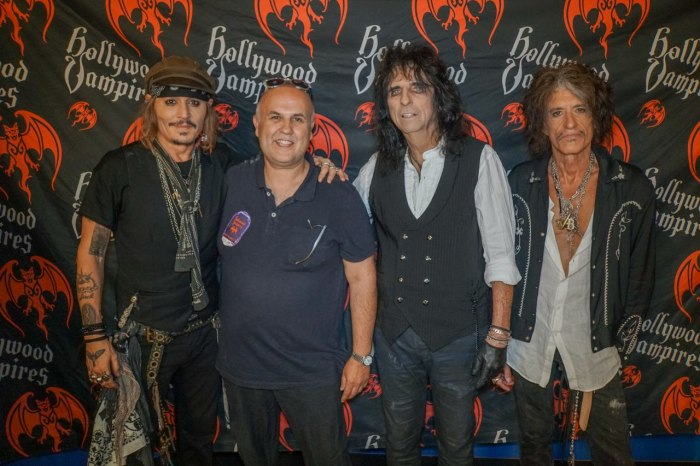 Meeting Johnny Depp -Artist Anthony Moman -Alice Cooper -Joe Perry