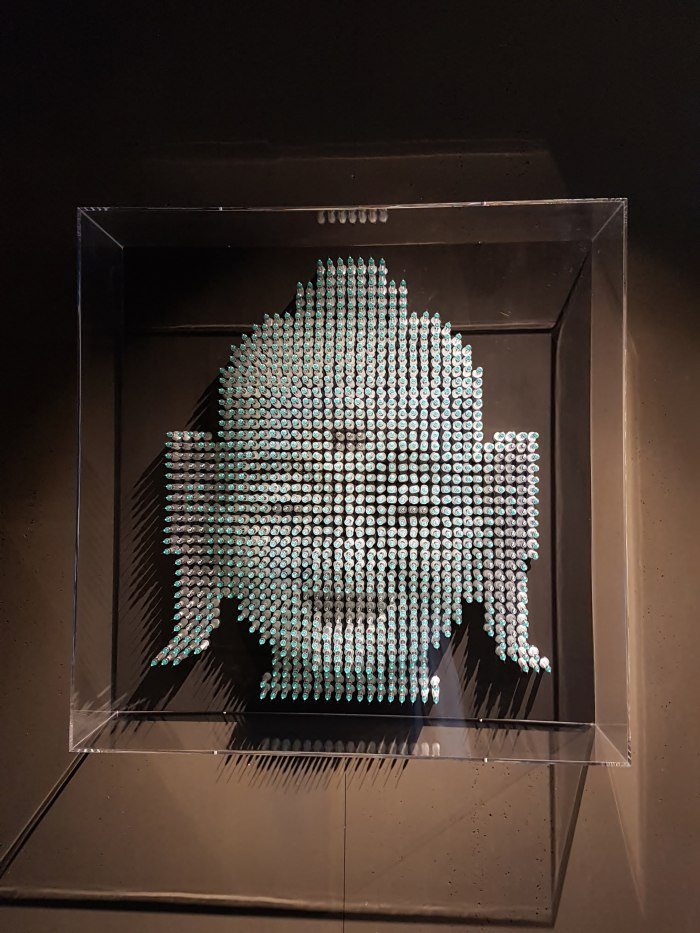 Karma_syringe sculpture_Anthony Moman