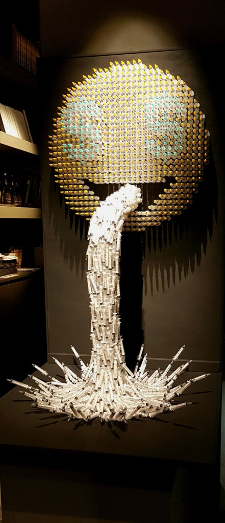 Sick_syringe sculpture_Anthony Moman
