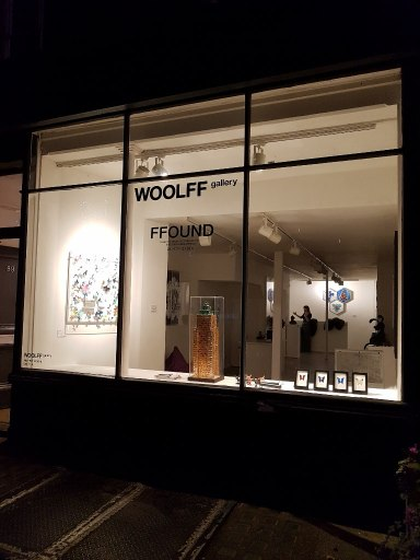 Outside Of Woolff Gallery