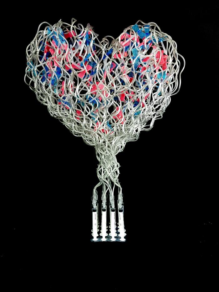lovesick syringe sculpture anthony moman