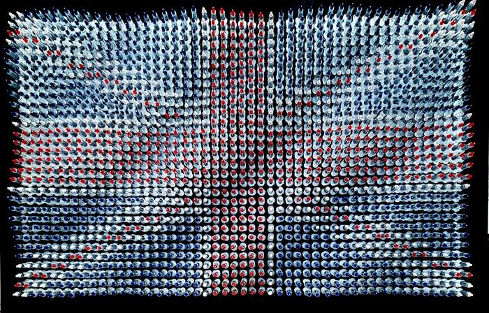 This Sceptred Isle UK flag-syringe-art-Anthony Moman